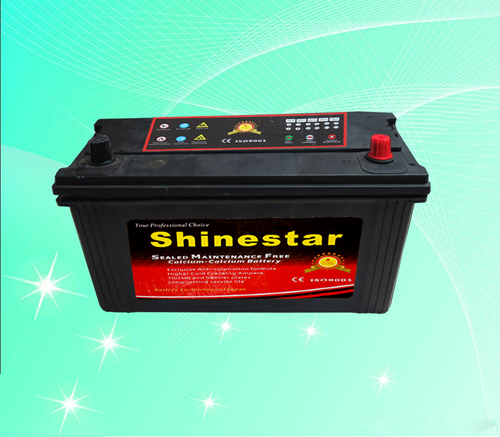 12 V100AH Maintenance Free Auto Battery