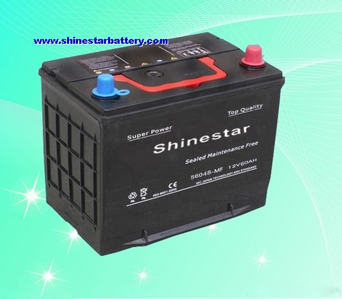 DIN60 rechargeable battery for car, Automobile, Vehicle starting