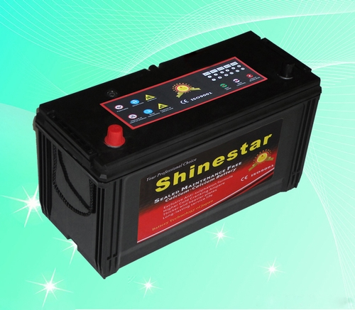 105AH DIN standards Sealed Maintenance Free Battery power max car battery