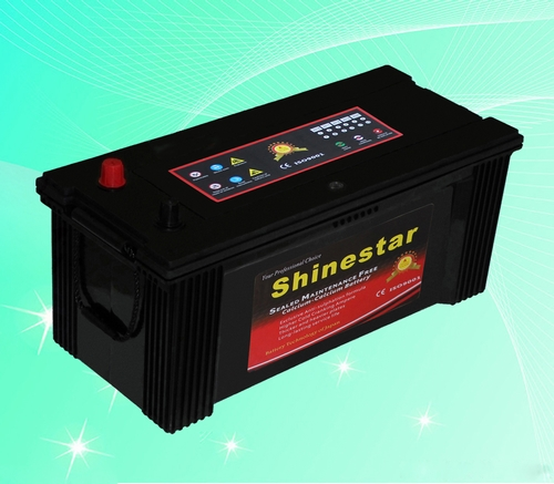 150AH DIN standards Sealed Maintenance Free european car battery
