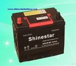 12 Volt 60Ampere Sealed Maintenance Free  car battery 55d23l car battery