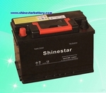 12V DIN60 standards Sealed Maintenance Free Auto Batteries