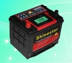JIS standard 12V75Ah Maintenance Free Car Battery