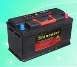 DIN standard 12V100Ah Maintenance Free Car Battery