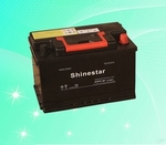 DIN standard 12V55Ah Sealed Maintenance free Car Battery