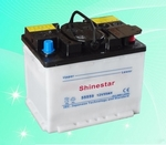 55559 12v 55AH Dry Charged Car Battery