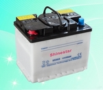 55565 12v 55AH Dry Charged Car Battery
