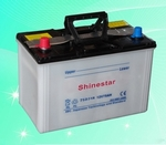 75D31R  12V75AH Dry Charged Car Batteries
