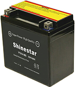 YTX14-BS 12V14AH  Maintenance-free Motorcycle Batteries